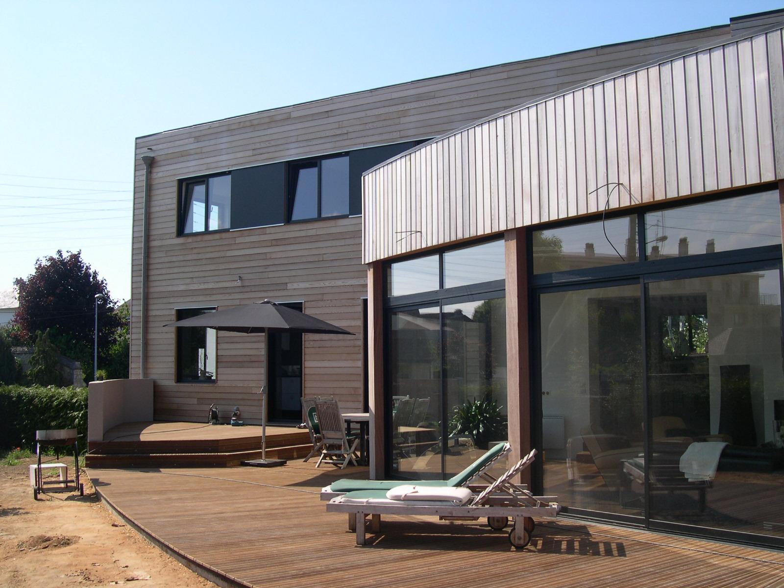 maison bois caen 14 construbois jamault. Black Bedroom Furniture Sets. Home Design Ideas