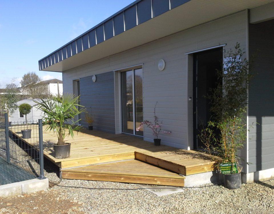 maison bois locative