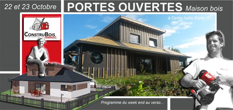 Portes ouvertes le 22 et 23 octobre 2016 maison bois