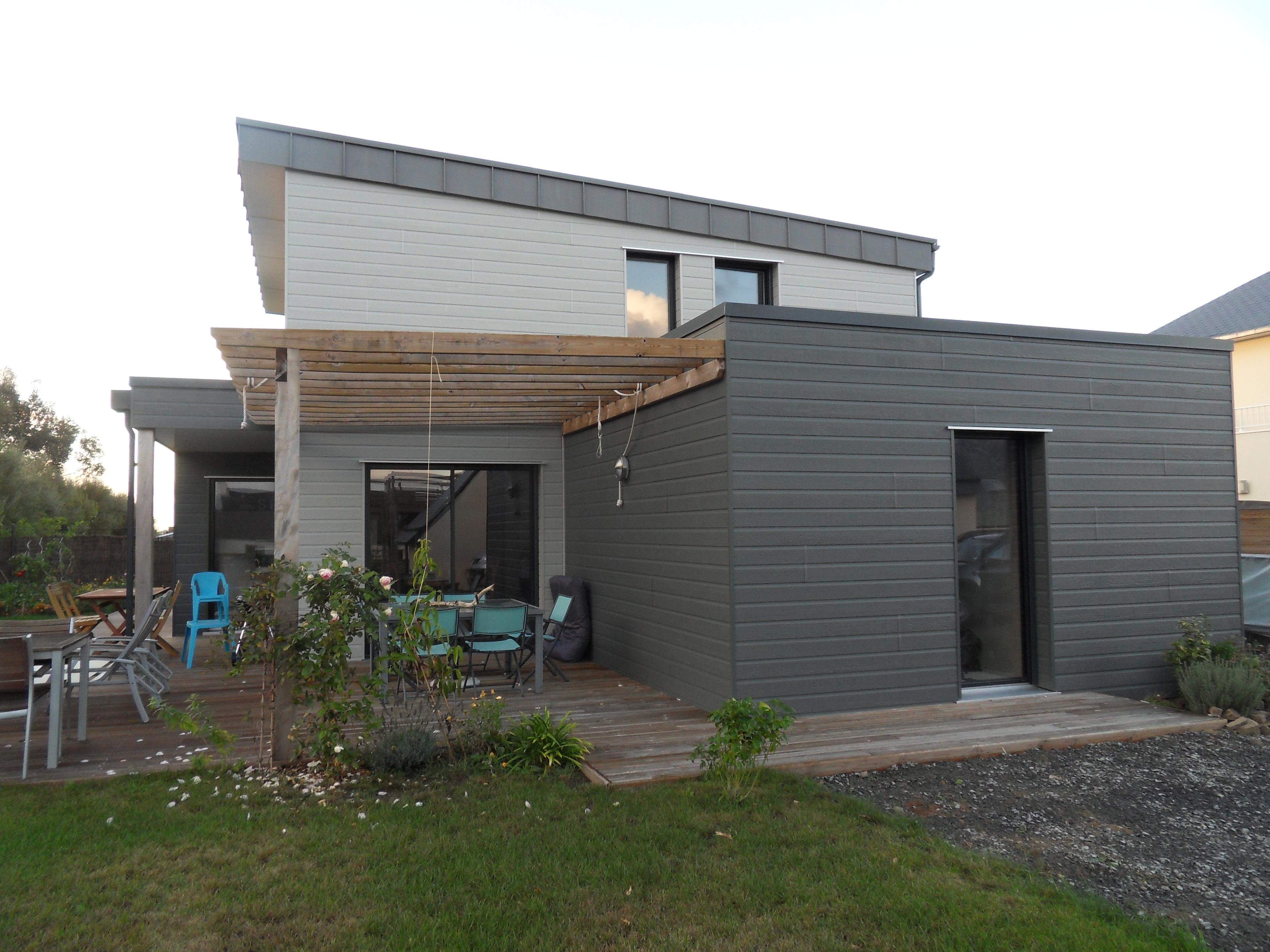 maison bois granville